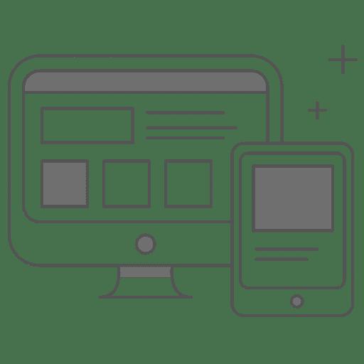 Icono diseño web
